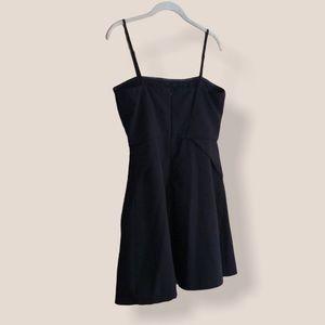 Ya little black dress with spaghetti straps Large